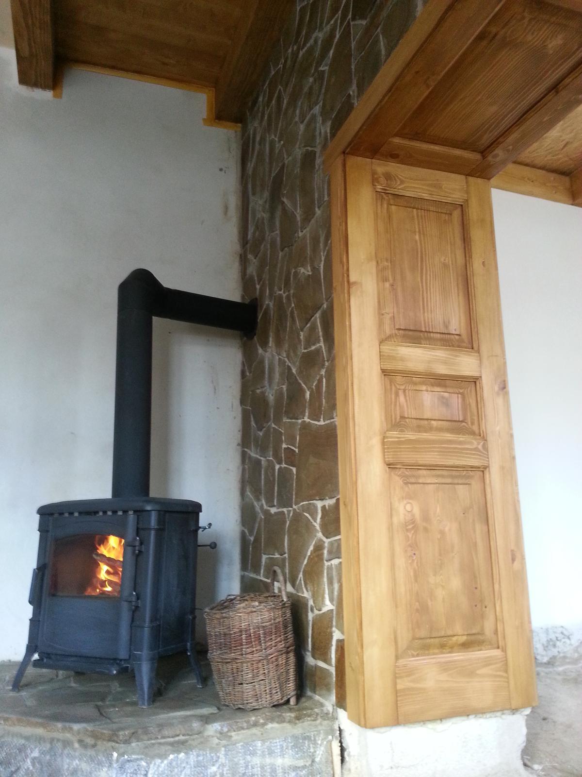 Rekonstrukcia  domu z 18- teho storocia - Nater osmo odtien dub