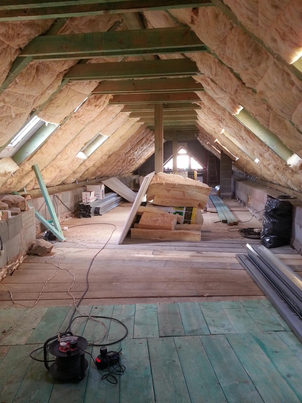Rekonstrukcia podkrovia - Obrázok č. 7