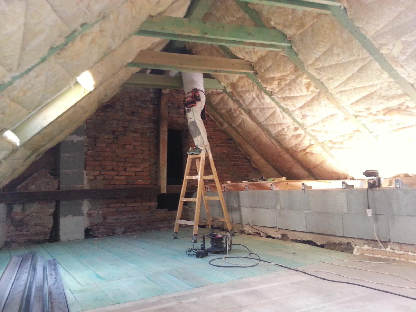 Rekonstrukcia podkrovia - Obrázok č. 9