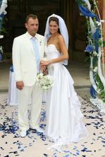 fotku jsem si z dovolením vypůjčila, nádherný oblek pro ženicha, začínáme vybírat