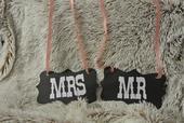Mr a Mrs cedule,