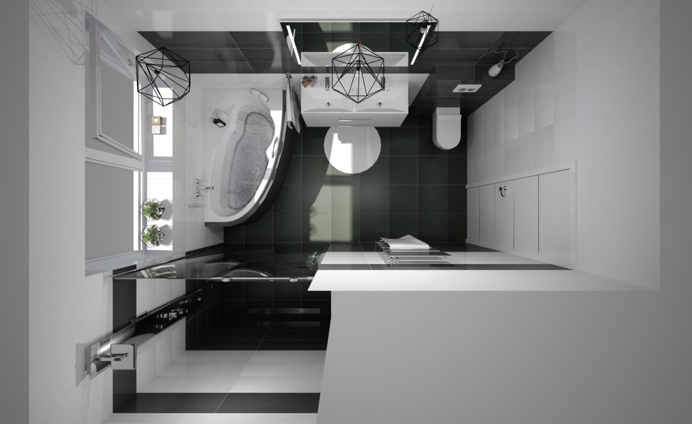 Návrh koupelny a WC - Obrázek č. 1