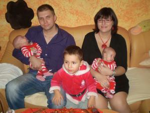 kompletní rodinka-Vánoce 2010