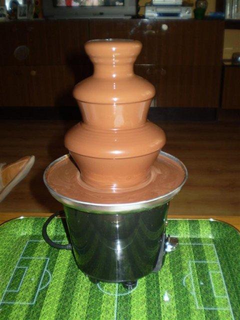 Anička & Vlado 13.06.2009 - cokoladova fontana