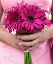 Taková bude moje kytička z gerber. :)