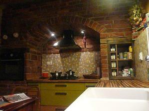 bližší záber z kuchyne
