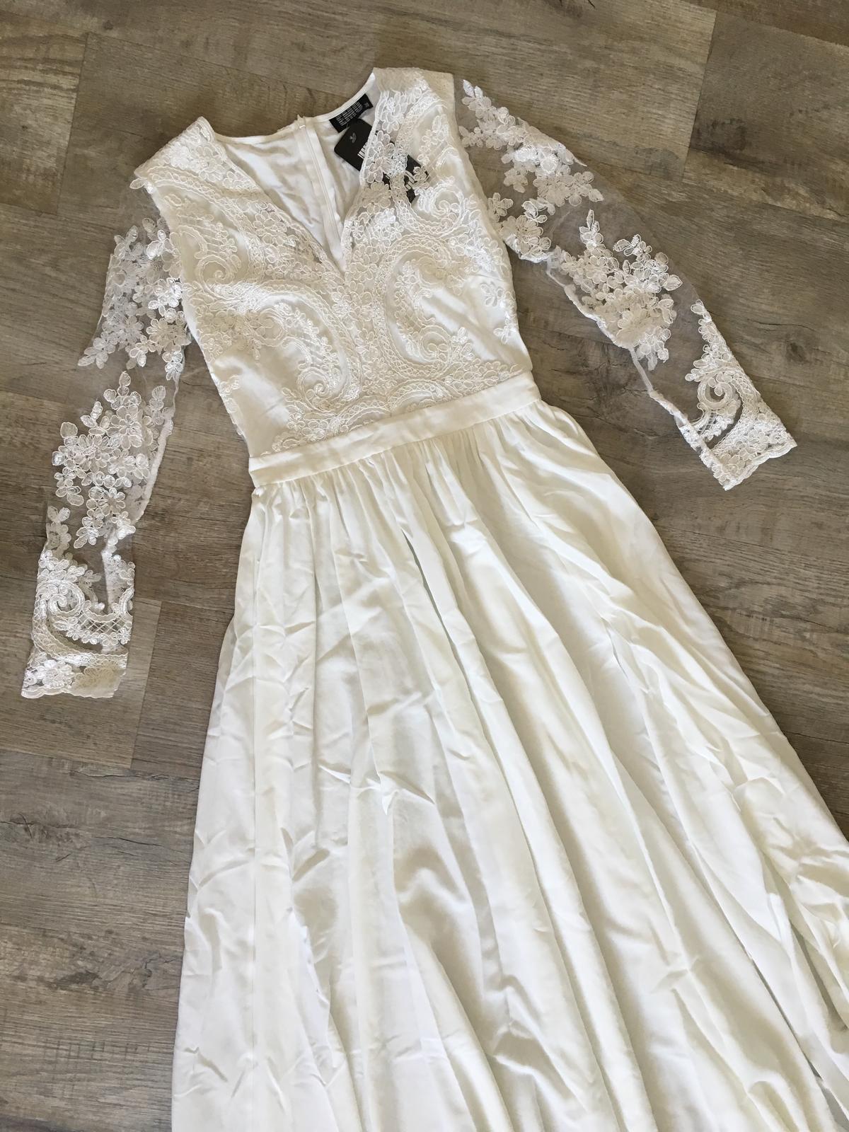 Boho šaty s dlouhým rukávem - Obrázek č. 1