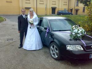 naše krásne svadobné autičko