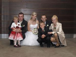 s manželovou sestrou a jej rodinkou