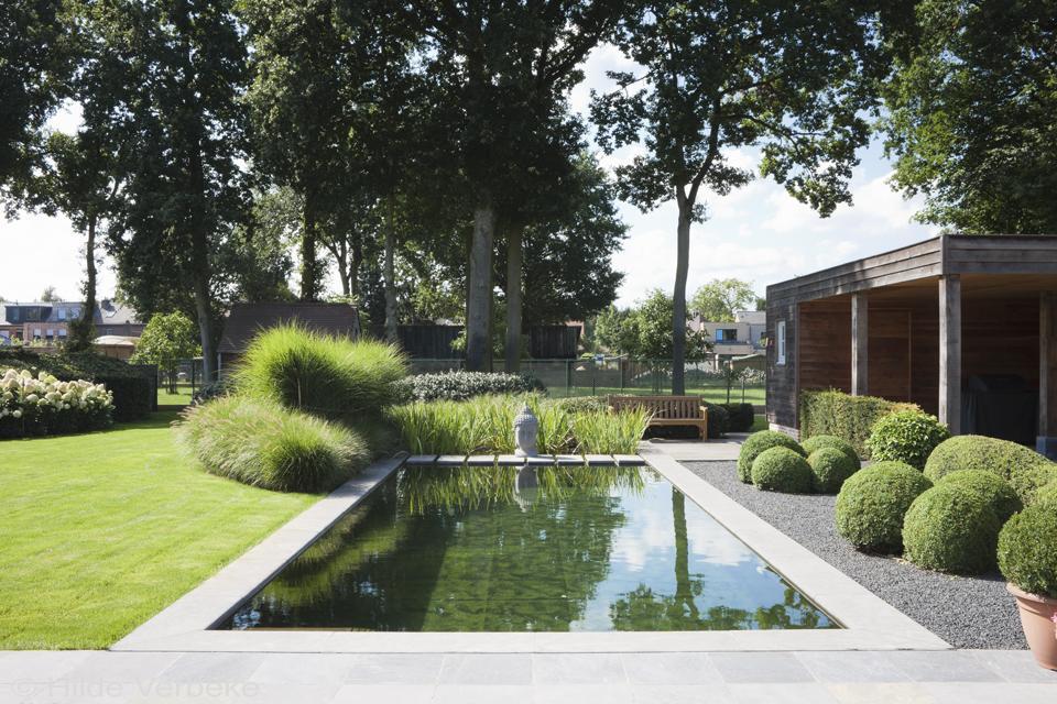 Nápady ven, zahrada, terasa, voda - Kdyby bylo místo na jezírko... 🐠