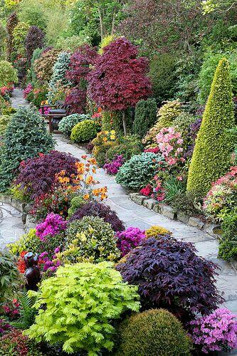 Nápady ven, zahrada, terasa, voda - Cestičky a barvy