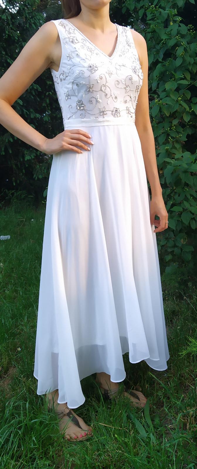 Svatební šaty,po půlnoční šaty - Obrázek č. 1