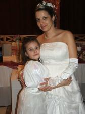 Ja s našou dcérkou.