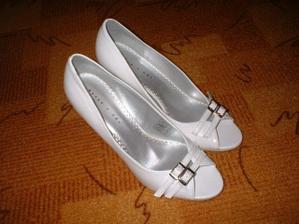 Úžasné, luxusní moje svatební botičky!