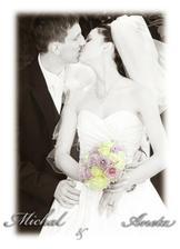 Šťastní novomanželé Zinkovi