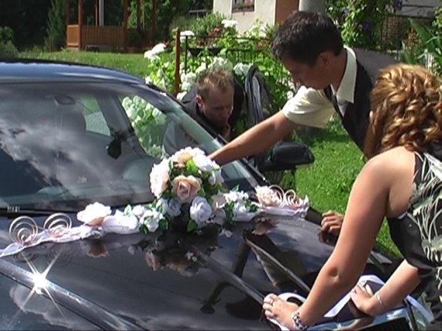 Lucia Brňáková{{_AND_}}Miroslav Kolenčík - Výzdoba auta