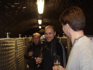Na ochutnávke vín