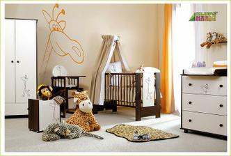 takto nejak detská izba, túto postieľku už máme ešte dokúpime zvyšný nábytok.