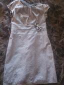 Puzdrové čipkované šaty, 44