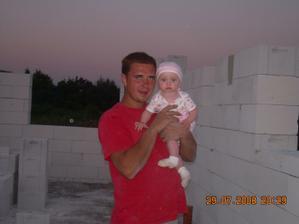 moj milovaný mužíček s dcérkou