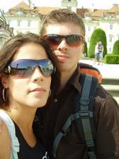 Darina a Aleš ( já a budoucí manžel)