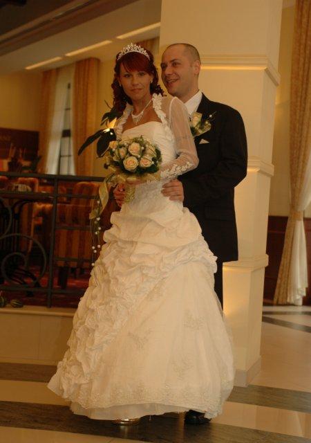 *Z & V*   20. 10. 2007 - my v svadobný deň