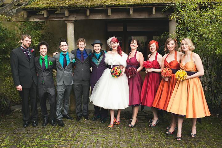 AZ inspirace V. - družičky a další svatebčané - Obrázek č. 32