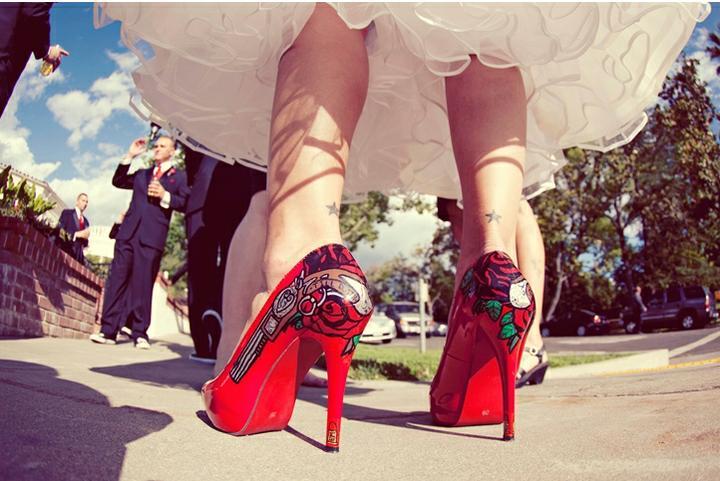 AZ inspirace I. - svatební šaty - skvělý boty!