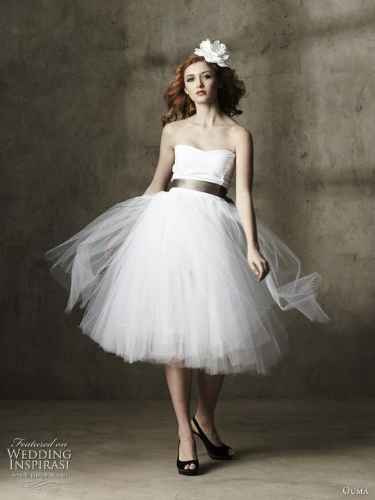 AZ inspirace I. - svatební šaty - od gepe