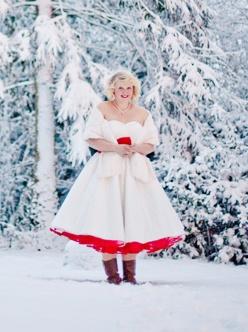 AZ inspirace I. - svatební šaty - jůůůů:-)