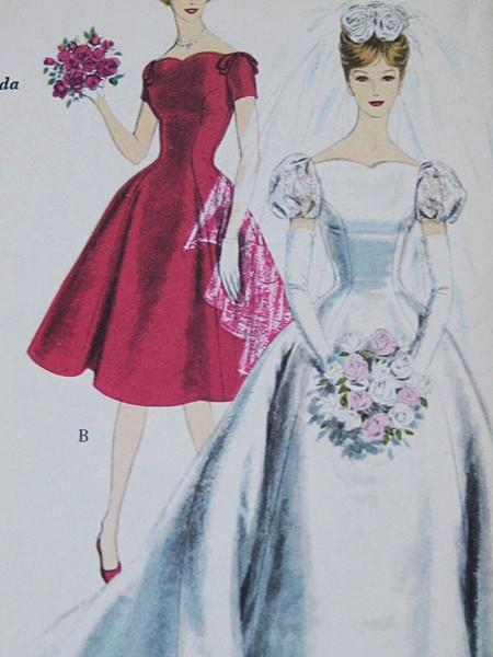 AZ inspirace I. - svatební šaty - ten střih krátkých se mi fakt líbí