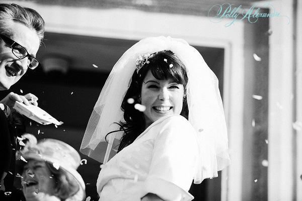 AZ inspirace I. - svatební šaty - původně jsem závoj nechtěla za žádnou cenu...