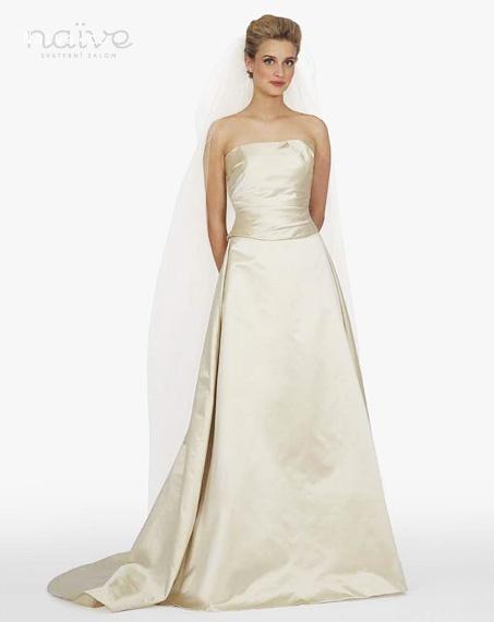 AZ inspirace I. - svatební šaty - kdyžtak vezmem takový ňáký dlouhý a ustříhnem je:-D