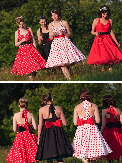 AZ inspirace V. - družičky a další svatebčané - tak do takových šatů se zamilovala moje svědkyně..