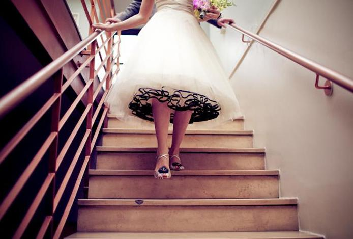 AZ inspirace I. - svatební šaty - spodek...
