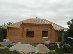 a krov je hotový