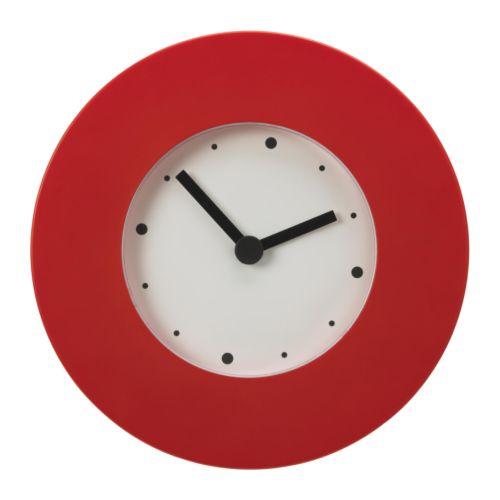 Synova izbicka - nastenne hodiny Ikea