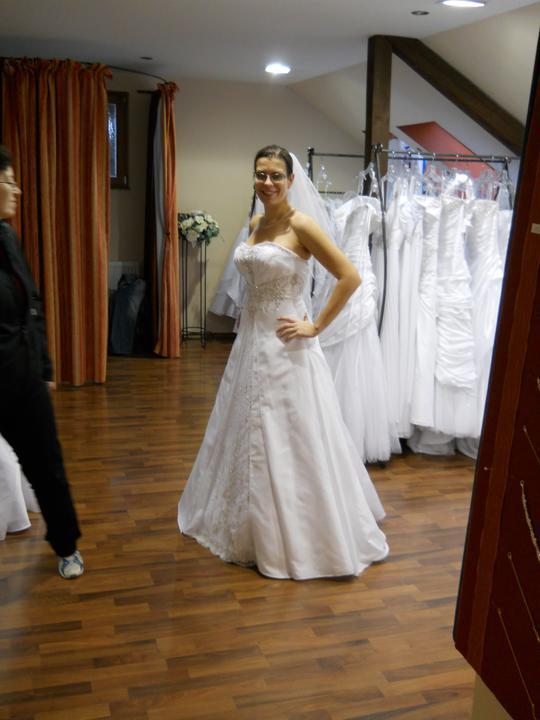 Co sa mi páči a čo by som chcela na našej svadbe - prvé skúšané