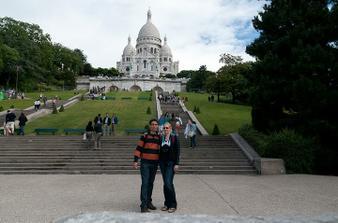 pár obrázků ze svatebky - Sacre Coeur