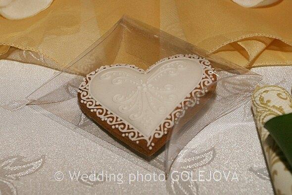 Svadba Viera & Darrell 5.5.2007 - Medovnikove srdiecka-darcek pre hosti
