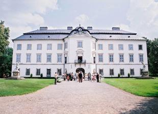 místo obřadu - zámek Vizovice