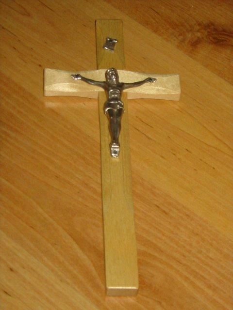 Pomaličky to chystáme :) - náš krížik