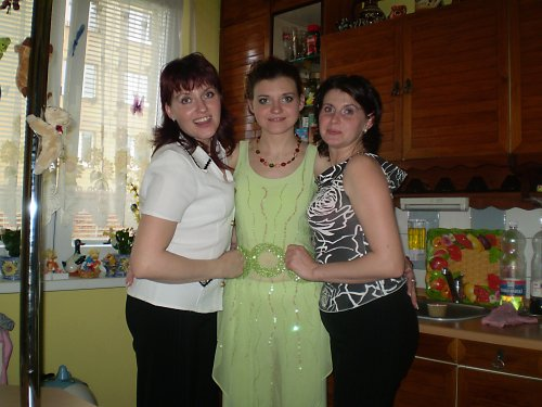 Zásnuby 23.3.2008 - moje sestricky