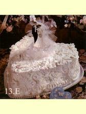 Svatební dort - vzor pro ten náš.