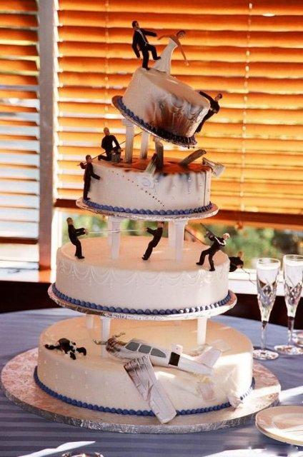 Kuriozní dortík....