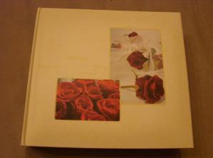 konečně se mi podařilo sehnat svatební album dle mých představ