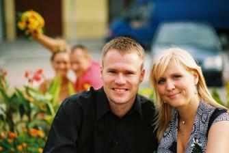 Svědkové Martin a Lucie