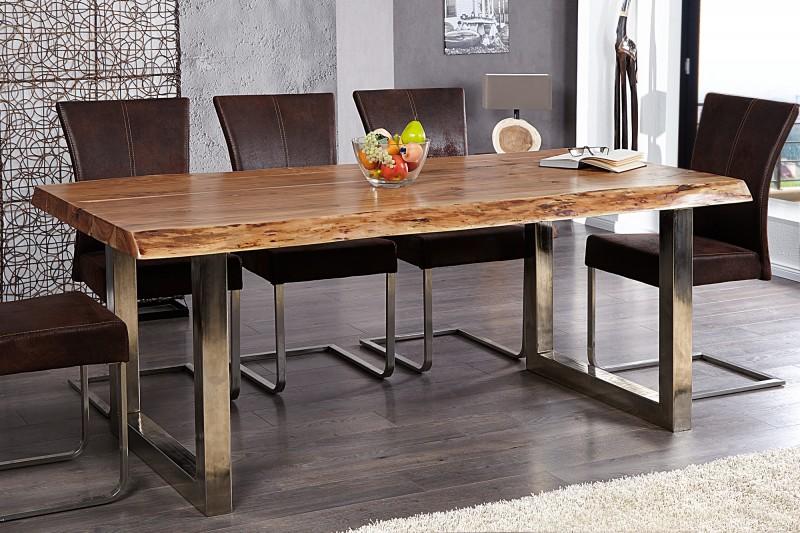 380c3822e815 Kde kúpim takýto stôl do jedálne s oceľovou podnož...