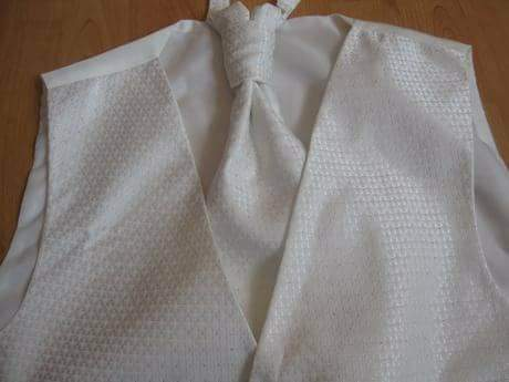 Pánska svadobná vesta XXXL - Obrázok č. 1