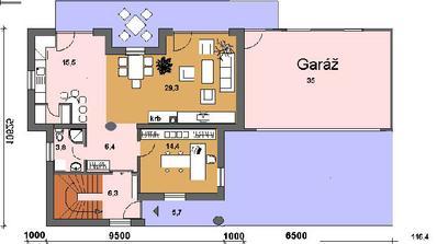 2 izb. byt na prizemi